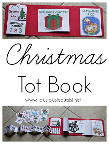 Christmas Tot Book
