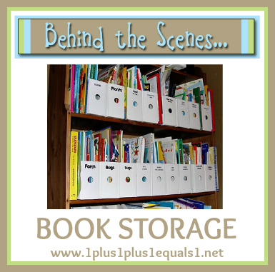Behind the Scenes ~ Book Storage