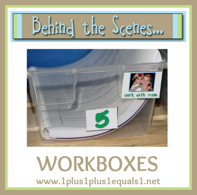 Behind the Scenes ~ Workboxes