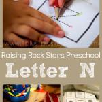 Raising Rock Stars Preschool Letter N