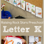 Raising Rock Stars Preschool Letter K