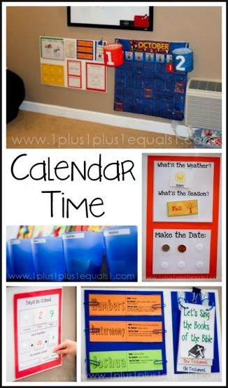 Calendar Time Ideas and Printables