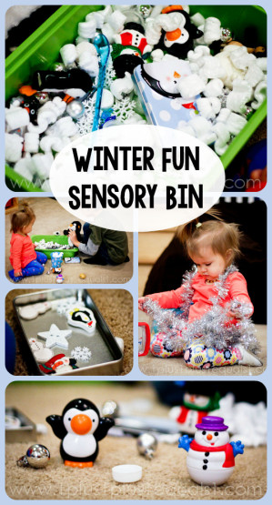 Winter Fun Sensory Bin