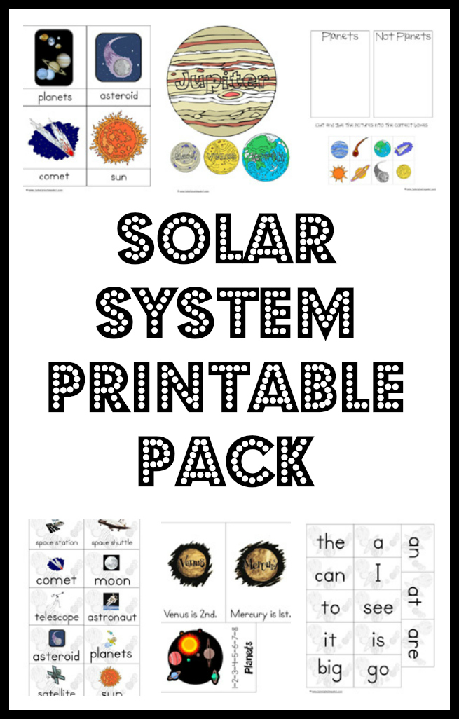 solar system printables kindergarten - photo #20