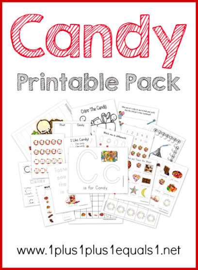 Candy Theme Printables