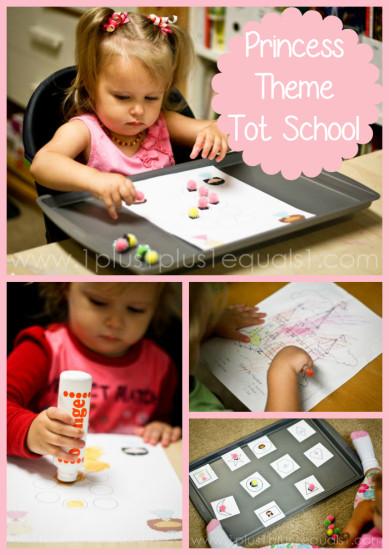 Princess Theme Tot School