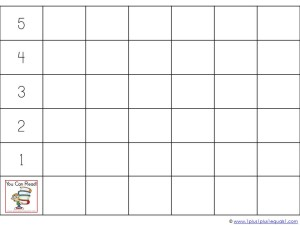 You Can Read Sight Words Graphing
