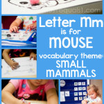 Tot School Printables M is for Mouse
