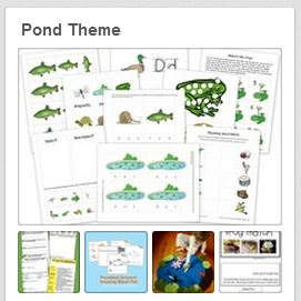 Pond Theme Printables And More 1 1 1 1