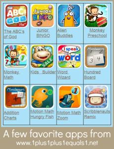 Favorite Homeschool Apps