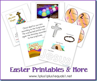 Easter Theme Printables And Activities From 1 11