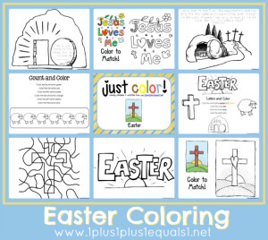 Just Color Easter