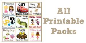 Printable Theme Packs