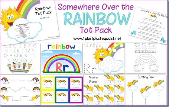 Rainbow Tot Pack