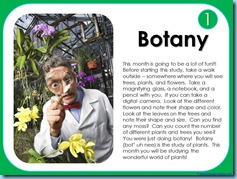Calendar Connections Botany Digital Version 1