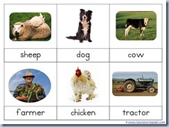 Montessori Nomenclature Farm Life1