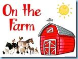 On the Farm Easy Reader