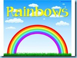 Rainbows Easy Reader