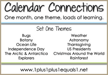Calendar Connections Set 1