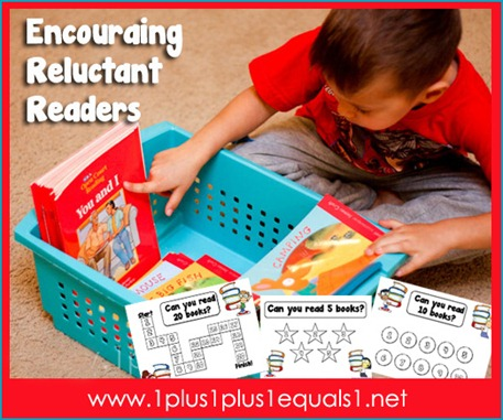 Encouragine Reluctant Readers