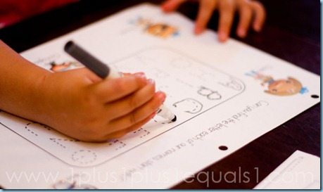 Octonauts Alphabet Tracing