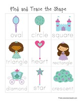 Princess Preschool Pack 6