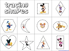Mickey Mouse Shapes