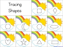 Rainbow Shapes
