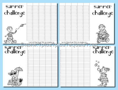 Summer Challenge Graphs