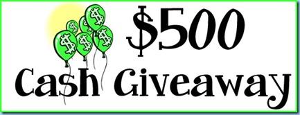 500 cash giveaway