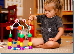 Homeschool Learning Resources Candy Construction Building Set-8294