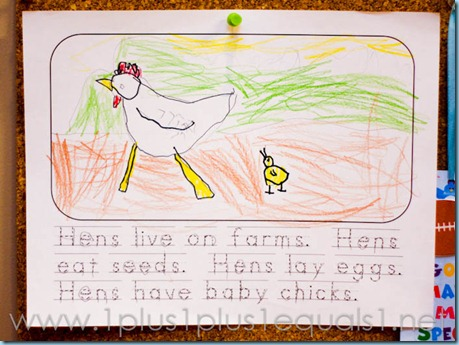 Draw, Write, Now Book One Hen -1157
