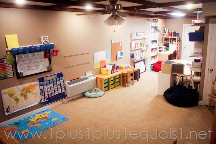 Our Homeschool Room