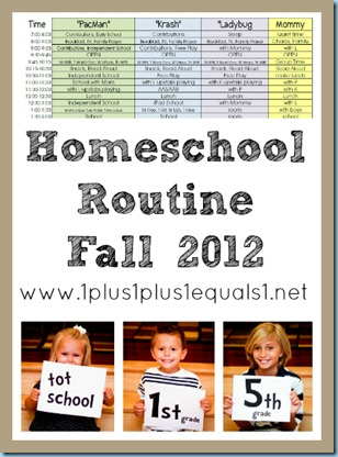 Homeschool Routine