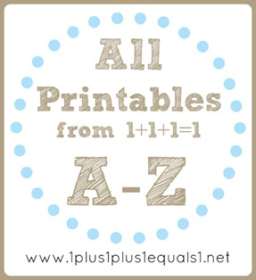 Alll Printables A to Z