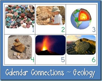 Calendar Connections Geology