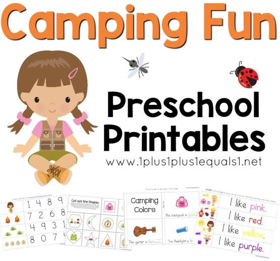 Preschool Tot And Kindergarten Printable Packs 1111. Cing Fun Preschool Pack. Worksheet. Music Worksheets For Pre K At Mspartners.co