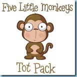 Five Little Monkeys Tot Pack