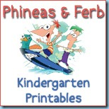 Phineas and Ferb Printables