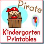 Pirate K Printables