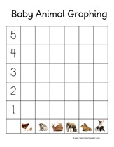 Baby Animal Graphing
