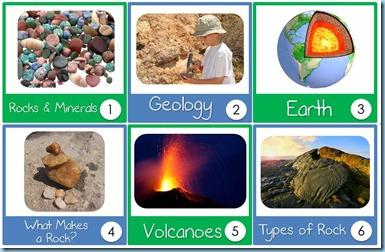 Geology Calendar Cards