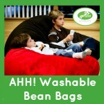 Ahh Washable Bean Bag Chairs 150