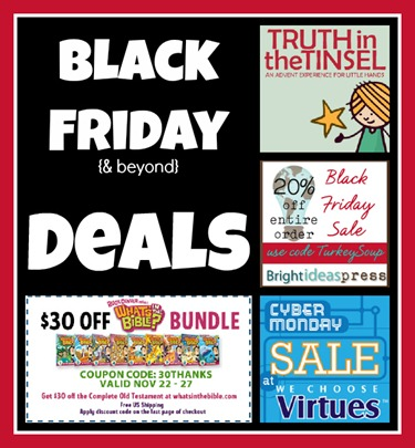 Black Friday Deals for Homeschoolers 2012