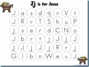 Christmas Letter Mazes Jesus