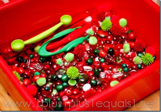 Christmas Sensory Bin-5009