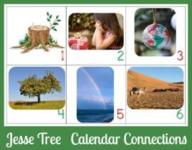 Jesse Tree Calendar Connections