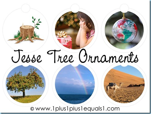 Jesse Tree Ornaments