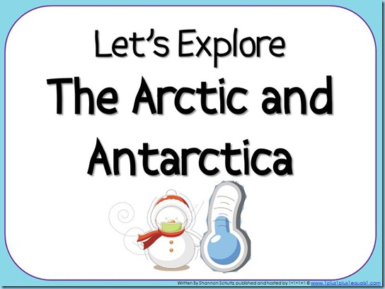 Lets Explore The Arctic and Antarctica eBook