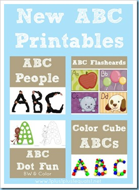 Alphabet printables new